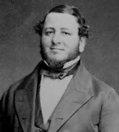 Portrait de Judah Philip Benjamin.